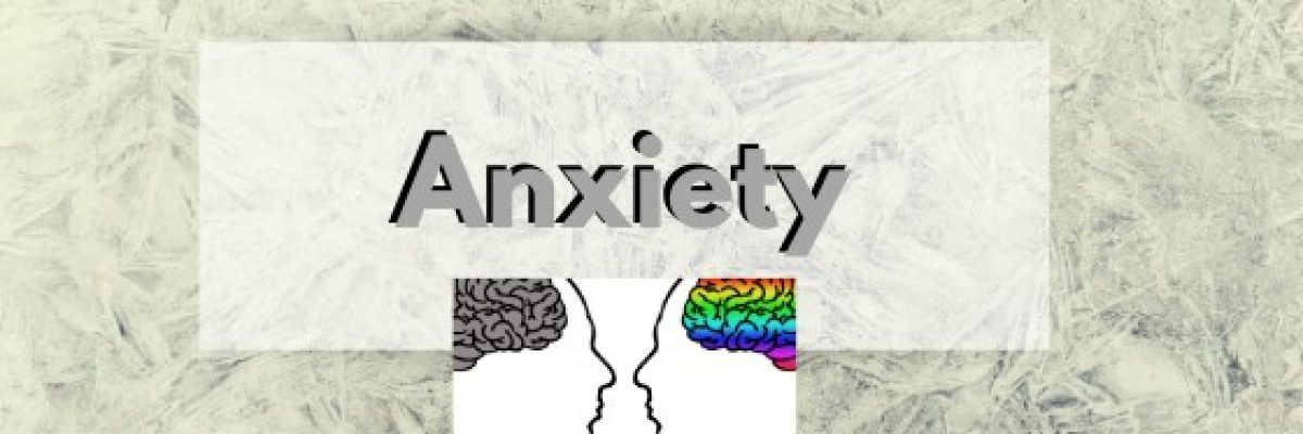 Anxiety blog header
